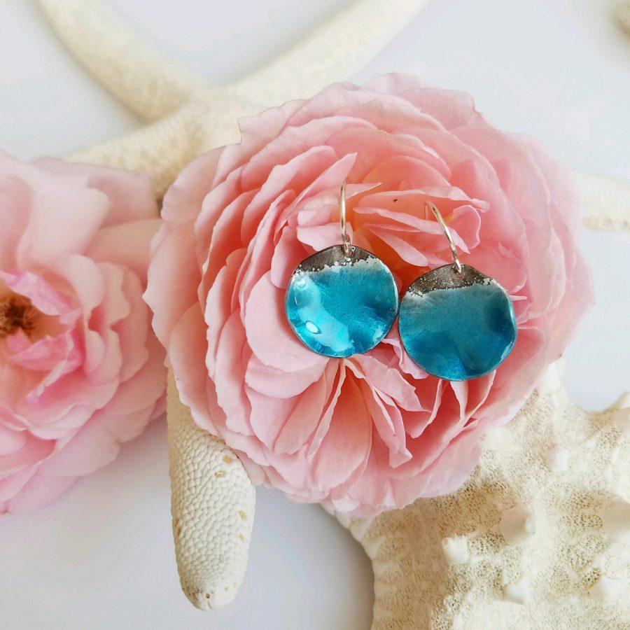 Ocean Shoreline Earrings