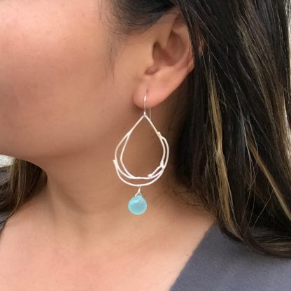 Chalcedony Earrings