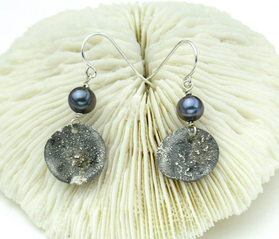 Wabi Sabi Pearl Earrings